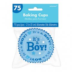 Baby Boy Baking Cups, 75ct