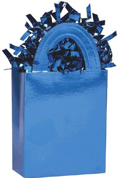 Mini Tote Balloon Weight - Blue