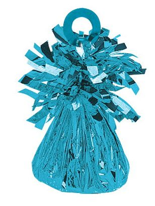 Small Foil Balloon Weight - 11 Caribbean Blue
