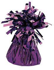 Purple Small Foil Balloon Weight