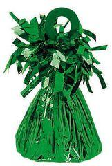 Green Small Foil Balloon Weight - 09 Green