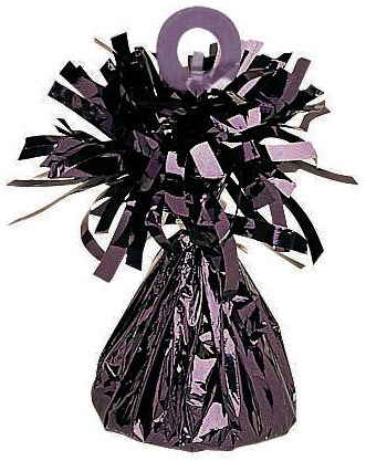 Black Small Foil Balloon Weight - 03