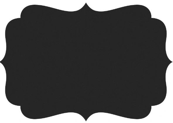 Chalkboard Paper Placemats, 24ct