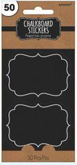 Chalkboard Stickers, 50ct