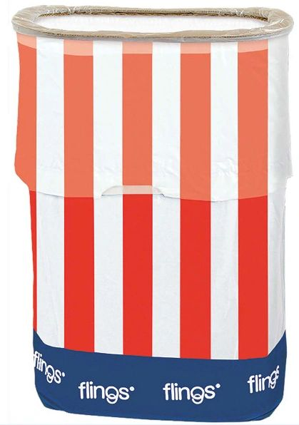 Patriotic Flings® Bin - Pop-Up Trash Bin