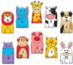 100th Day Of School Finger Puppets