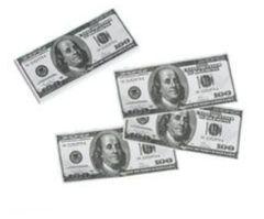 100th Day Of School Mini Benjamins, 100 ct.