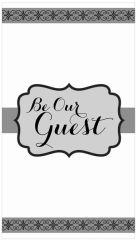 Be Our Guest Premium Guest Towels, 16ct