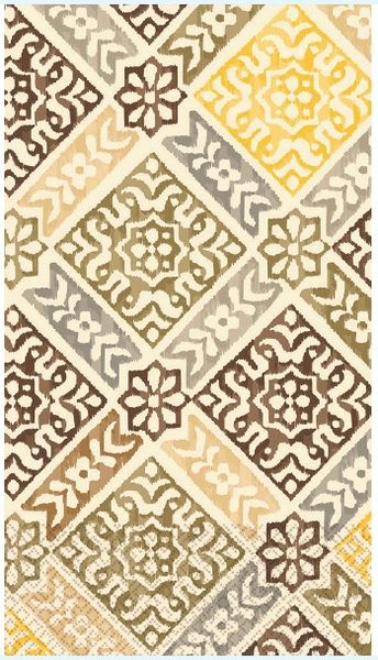 Medallion Print Guest Towels, 16ct