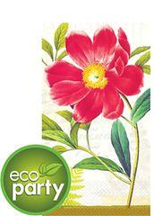 Botanical Peony ECO Guest Towels