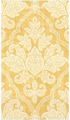Gold Damask Guest Towels