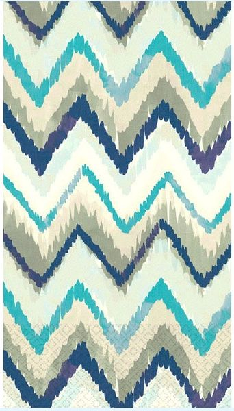 Seaside Stripe Guest Towels