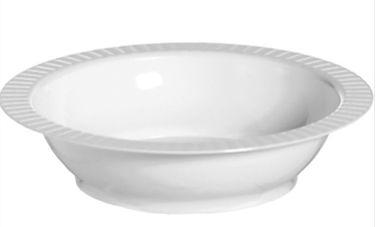 White Premium Plastic Bowls, 12oz - 24ct