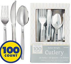 High Count Boxed Assortment - Silver, 100ct