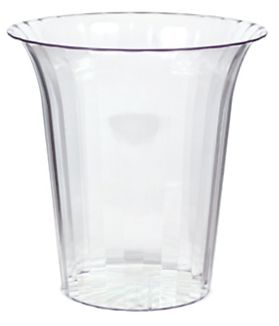Clear Flared Cylinder, Medium, 40oz