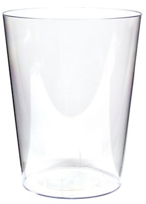 Clear Cylinder Container, Large