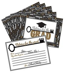 Graduation Advice Cards, 24ct