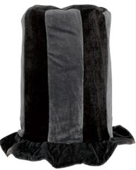 Black Tall Top Hat