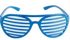Blue Shutter Glasses