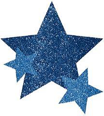 Blue Star Body Jewelry