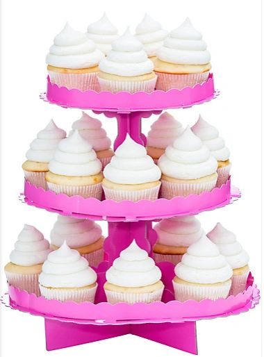 Treat Stand - Bright Pink