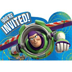 ©Disney Toy Story Power Up Postcard Invitations, 8ct