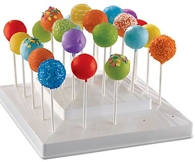 White Lollipop Stand