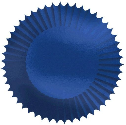 "Bright Royal Blue 2"" Foil Baking Cups, 24ct"