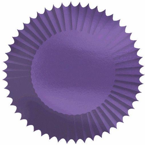 "New Purple 2"" Foil Baking Cups, 24ct"
