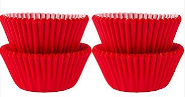Mini Cupcake Cases - Apple Red, 100ct