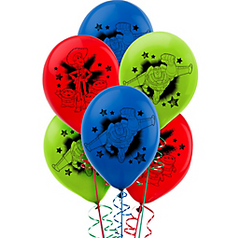 ©Disney Toy Story Power Up Latex Balloons, 6ct