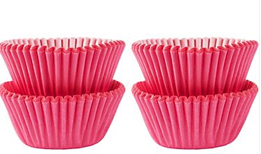 Mini Pink Baking Cups, 100ct