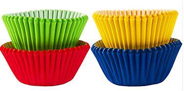 Mini Cupcake Cases - Rainbow, 100ct