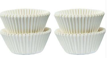 Mini Cupcake Cases - White, 100ct