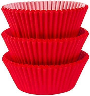 Red Baking Cups, 75ct