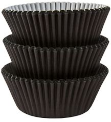 Black Baking Cups, 75ct