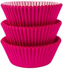 Bright Pink Baking Cups, 75ct