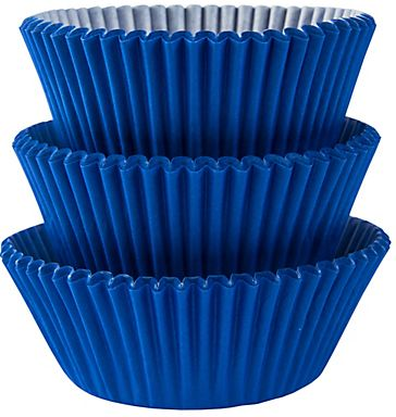 Bright Royal Blue Baking Cups, 75ct