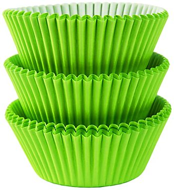 Kiwi Green Baking Cups, 75ct