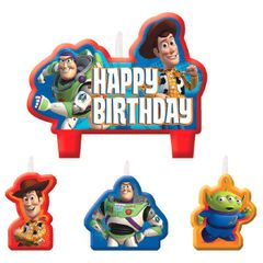 ©Disney Toy Story Power Up Birthday Candle Set