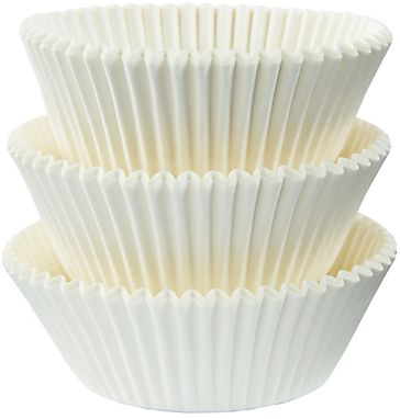 White Baking Cups, 75ct