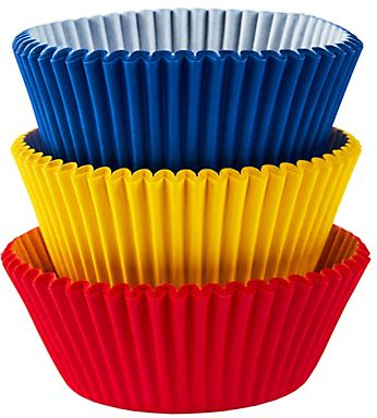 Primary Colors Baking Cups, 75ct