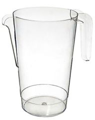 Clear Plastic Pitcher, 50oz