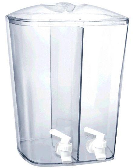 Double Beverage Plastic Dispenser