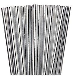 Paper Straws - Silver, 24ct