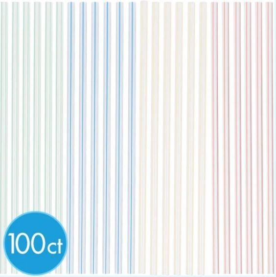 Straws, 100ct