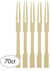 Bamboo Cocktail Picks, 70ct