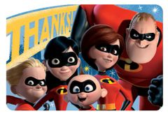 ©Disney/Pixar Incredibles 2 Postcard Thank Yous, 8ct