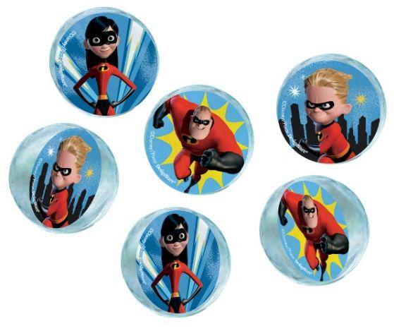 ©Disney/Pixar Incredibles 2 Bounce Balls, 6ct