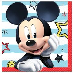 ©Disney Mickey on the Go Beverage Napkins, 16ct